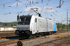 Railpool 185 671-5 Trier Hbf_2 (TaurusES64U4) Tags: txl traxx br185 railpool