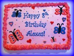 Butterfly cake, Acworth, GA, www.birthdaycakes4free.com