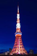 東京タワー Tokyo Tower (ELCAN KE-7A) Tags: tower japan tokyo pentax illumination 日本 東京 2014 タワー イルミネーション ライトアップ ペンタックス k5ⅱs