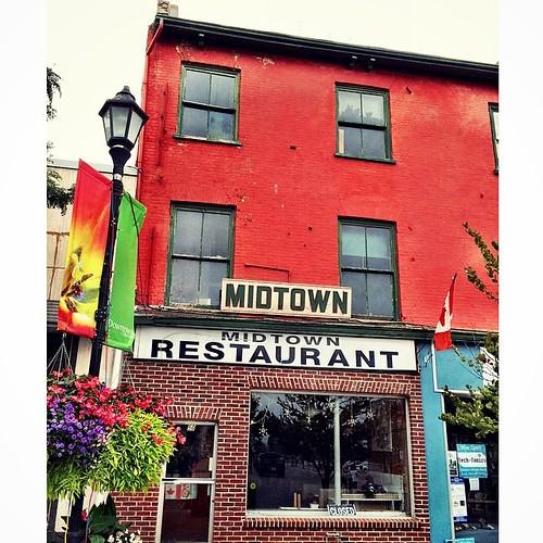 Midtown restaurant, downtown Coburg. #Coburg