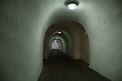 Towards the exit... (hansntareen) Tags: castle tunnel exit schlossneuschwanstein
