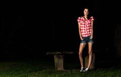 Low Key Sarah Bench (www.danwyrephotography.co.uk) Tags: woman sexy dan grass sarah wales lady bench photography daniel denim shorts aberdovey gwynedd wyre aberdyfi tywyn ynysymaengwyn bryncrug
