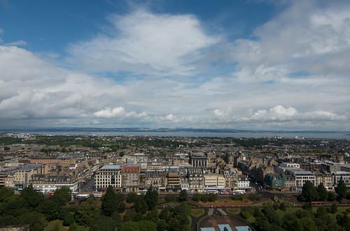 View from the castle, Edinburgh ©  Still ePsiLoN