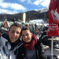 Jozo and Natasha.jpg (Foster's Lightroom) Tags: snow skiing australia newsouthwales snowskiing thredbo jozofrankovic natashamartelli