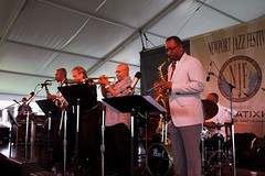 Donald Harrison and The Cookers at the Newport Jazz Festival 2014, August 1-3, Newport, Rhode Island
