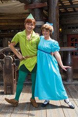 DLP Aug 2014 - Meeting Peter Pan and Wendy (PeterPanFan) Tags: travel summer vacation france canon europe character august peterpan disney characters heroes aug adventureland disneylandparis dlp 2014 disneylandresortparis disneycharacters disneycharacter marnelavallée wendydarling parcdisneyland disneyparks canoneos5dmarkiii disneylandparispark