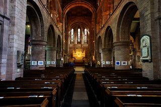 Shrewsbury abbey church interior
