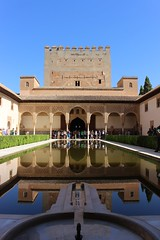 Court of the Myrtles (Richimal) Tags: court de los spain palace patio alhambra granada arrayanes myrtles patiodelosarrayanes courtofthemyrtles