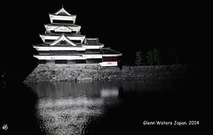 Matsumoto Castle 2 © Glenn E Waters. Japan 2014. 松本城. Over 3,000 visits to this photo. (Glenn Waters ぐれんin Japan.) Tags: castle japan 日本 matsumoto d800 夜 松本城 matsumotojo 松本市 ニコン nikond800 ぐれん glennwaters ウォータースぐれん