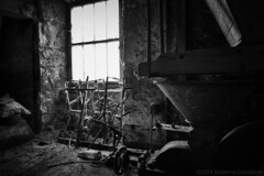 The Old Mill 2014-08-31g (G Davidson) Tags: uk blackandwhite mill scotland aberdeenshire derelict 2014
