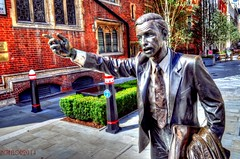 TAXI !!! (Tryppyhead) Tags: sculpture london statue hdr cityoflondon nikond5000