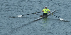 Lone Rower on the Allegheny River (jimbobphoto) Tags: race train river boat row oar allegheny alleghenyriver skul