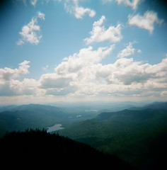 Adirondack Mountains (mattgolden) Tags: mountains analog holga lomography adirondacks adk