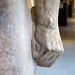 New York Kouros, detail of right fist