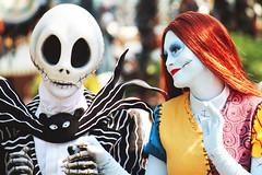 IMG_6143 (disneylandings) Tags: halloween face jack time disneyland character disney resort sally skellington