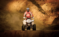 quad (Rachid HAKKA) Tags: outside algeria nikon northafrica outdoor sigma quad moto algerie motocross 70200 algérie 2014 grandbleu d7000 zemmouri nikond7000 septembre2014 byrachidhakka