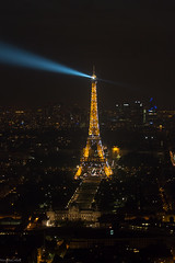 Eiffel tower by night (NicosEOS) Tags: eiffeltower toureiffel montparnasse parisbynight