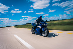 Motor Bike (Colbis) Tags: motion clouds speed bokeh gorgeous sony fast motorcycle roller yamaha r1 28 16mm bokehlicious a6000