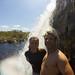 Tomando um banho no Canhoeirão