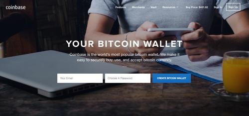 CoinbaseHomepage