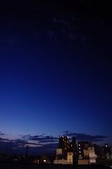 (Haiti from Limbo) Tags: sky urban nature japan buildings landscape tokyo evening cityscape horizon atmosphere bluesky   nightlife