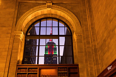 New York Public Library, USA (Yannick-R) Tags: new york city nyc usa building window public state library ngc empire ville yannick rivoire