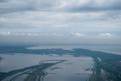 Delta.del.Po_aerial_03 (Gianluca Nani) Tags: italy river italia aerialview lagoon po laguna italie emiliaromagna deltadelpo vallidicomacchio podelta visionedallalto vallebertuzzi visioneaerea