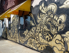 Oakland Chinatown Dragon Murals (shaire productions) Tags: street urban building art painting photography graffiti oakland photo artwork mural chinatown dragon arts dragons graffitti creature imagery mythos mythological