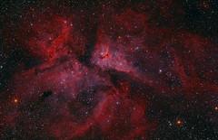 Nebulosa Carina com h-alpha (Delberson Tiago) Tags: