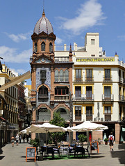 Seville, Spain (Wendy_Armstro) Tags: city travel spain colours cities seville spanish