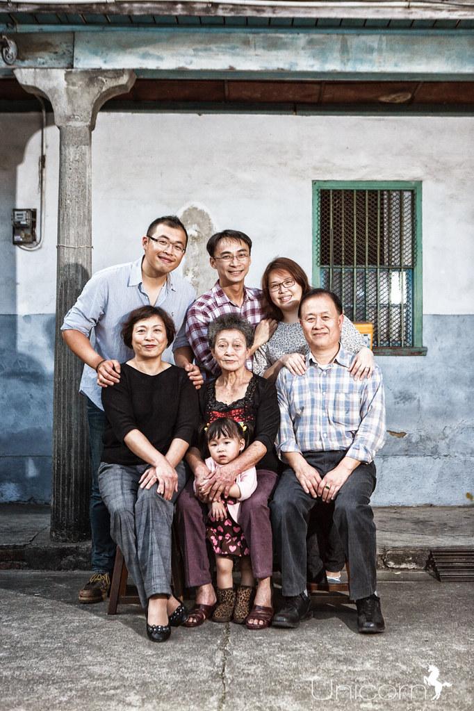 《全家福寫真》林氏家庭寫真記錄