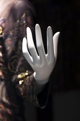 Mannequin's hand (DigiPub) Tags: white abstract mannequin fashion vertical closeup blackbackground photography ginza hand deluxe gorgeous nopeople  istock dummy onsale luxury deformed femininity partof sexsymbol  colorimage humanhand   femalelikeness   p20141115 g14158031 53486956
