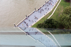 Mayor's view of the bustling life of London (Desire Soriano) Tags: abstract reflection london canon cityhall efs1855mm openhouseday eos650d
