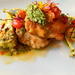 Swordfish Milanese with artichokes at Troquet @troquetbos