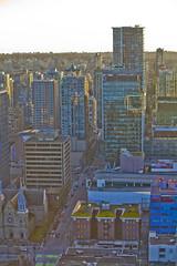 Vancouver Lookout @ Harbour Centre (GoToVan) Tags: lookout harbourcentre view downtown sunset