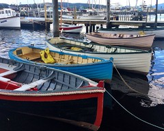 Franklin. Wooden boats.