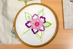 DSC_0707 (surreyadultlearning) Tags: embroidery sewing adulteducation surrey camberley art craft tutor uk painting calligraphy photography