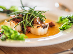 Rocksalt Brasserie (johnnewstead1) Tags: food foodphotography scallop scallops lowestoft pier claremont claremontpeir suffolk restaurant johnnewstead olympus em1 mzuiko