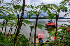 Lake Sebu, South Cotobato (julesnene) Tags: 1022mm canon1022mmlens canon7dmark2 canon7dmarkii juliasumangil lakesebu puntaislalakeresort southcotabato bigfish boat destination fern fishing floatingrestaurant julesnene lake nature touristattraction wideangle regionxii philippines ph