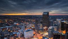 D E N V E R O P O L I S 3 (wilsonaxpe) Tags: denveropolis colorado cityscape urbanlandscape urbannightscape dawn sunrise denver milehighcity