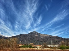 Nuvole rapide (erripollo) Tags: mountain rock italy iphone colors landscape sky cloud