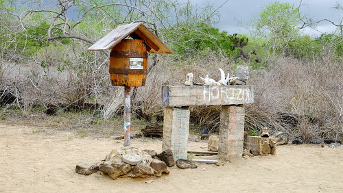 Post Office Bay, Floreana, Galapagos