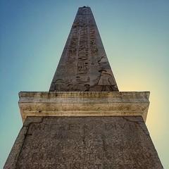 Obelisco egípcio levado a Roma no ano 10 a.C. pelo Imperador Augusto. (jpcamolez) Tags: obelisco egípcio levado roma no ano 10 ac pelo imperador augusto