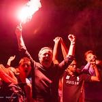 Fans de foot - Lausanne - Coupe du Monde 2014 - Après le match Suisse - Honduras thumbnail