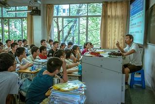 【组图】高三学生的最后一课