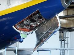737 APU DAP 001 (gallftree008) Tags: ireland dublin irish airport power aircraft aviation air hangar aeroplane boeing dub aeroplanes 737 apu dap dublinairport aerodrome unit auxiliary