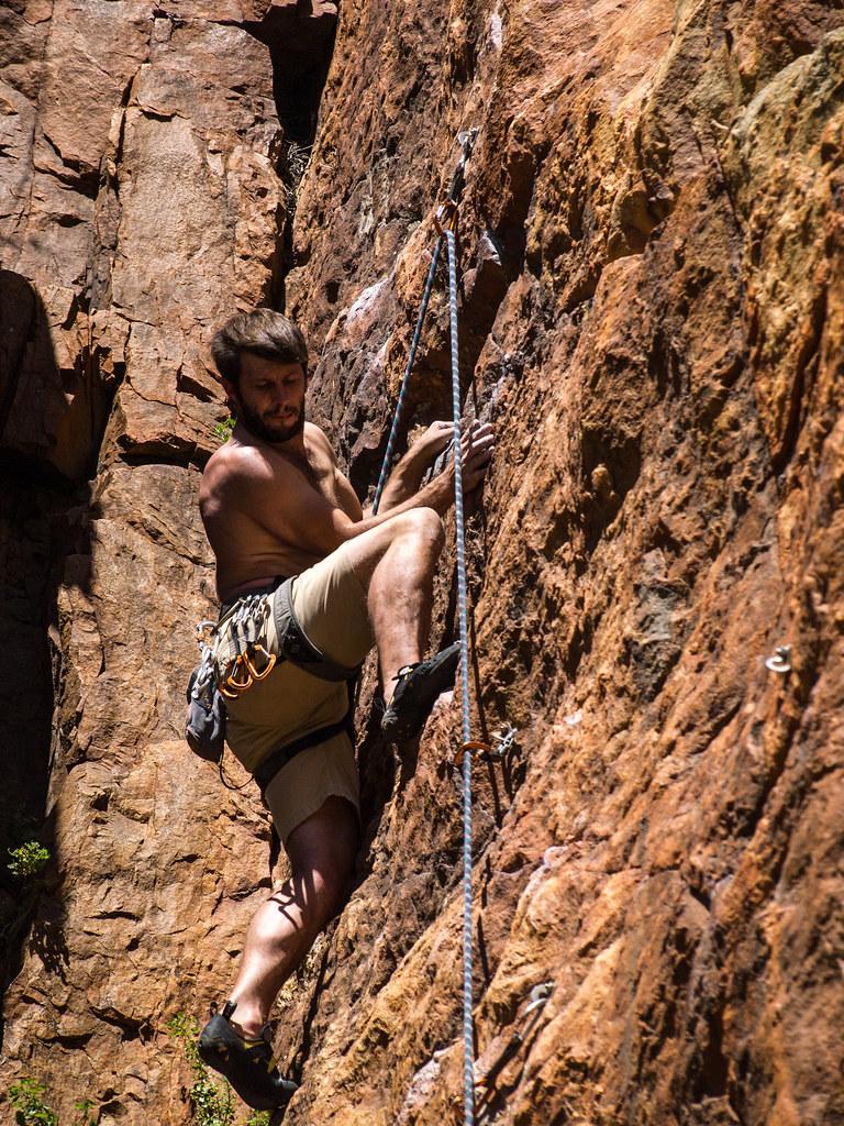 Christo Rock Climbing, Montague, South Africa