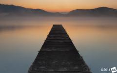 I n T h e L o n g r u n (AnthonyGinmanPhotography) Tags: longexposure mist japan jetty naganoprefecture nojiriko olympuse30 olympus1122mmf28