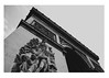 (lafranshi) Tags: sky blackandwhite black paris vintage dark lights arcdetriomphe