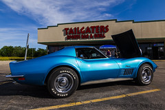 Saturday Afternoon @ Tailgater's (Echoes of the Past) Tags: show cruise hot car night angle stingray muscle wide rod corvette tailgaters